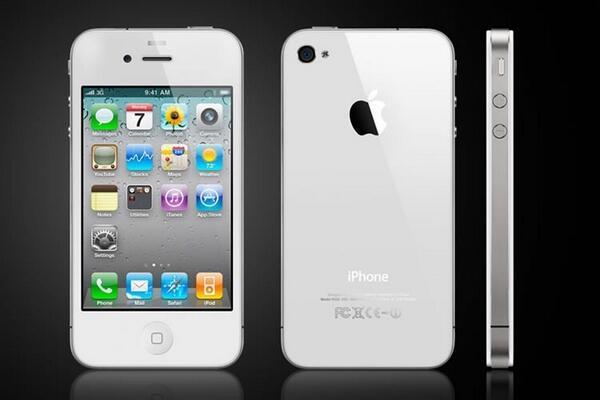 iphone 4 blanc pas cher