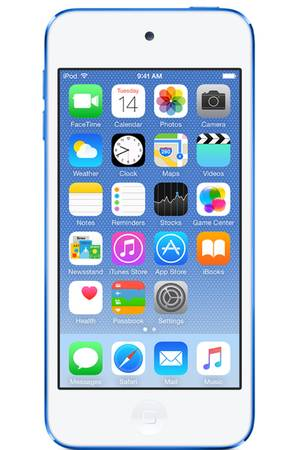 ipod touch 6 bleu