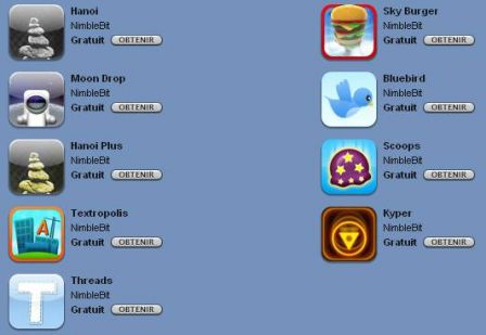 ipod touch jeux