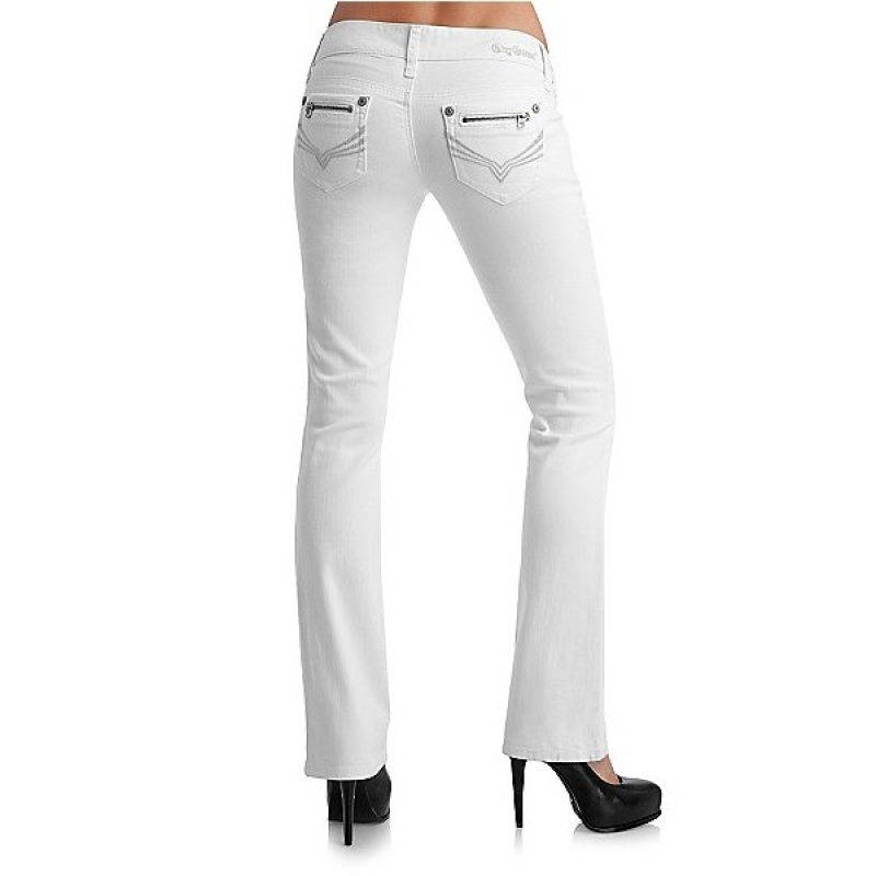 jeans guess blanc
