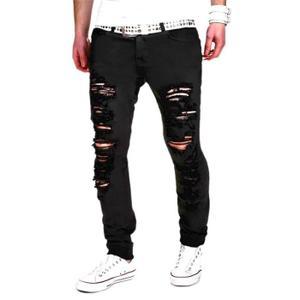jeans troué homme pas cher