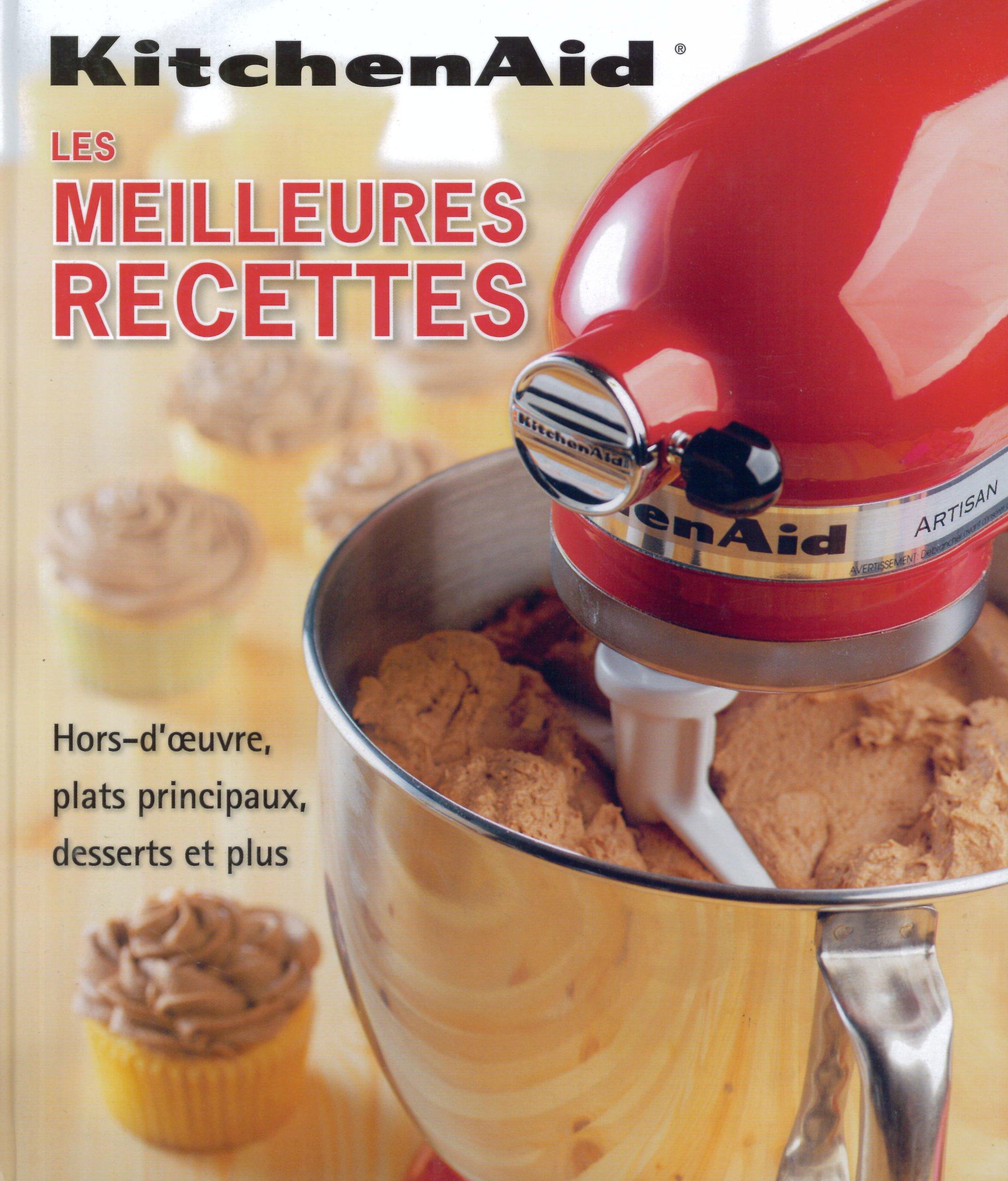 kitchenaid livre recette