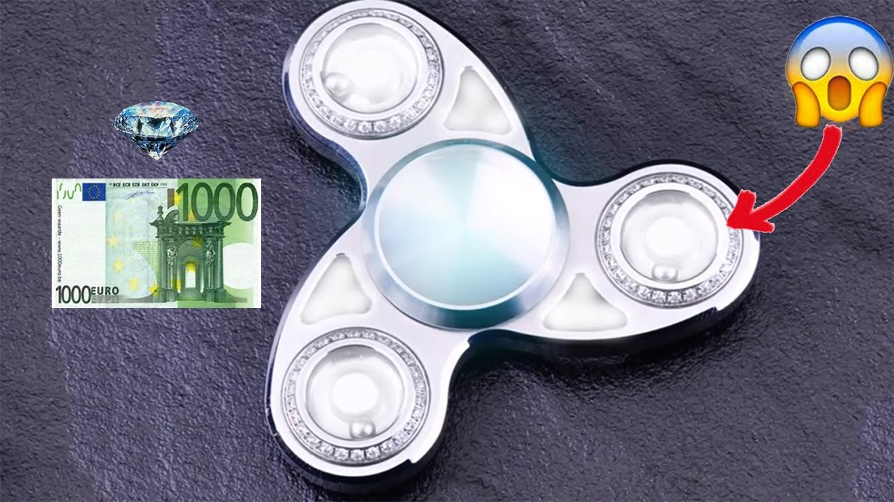 le hand spinner le plus cher