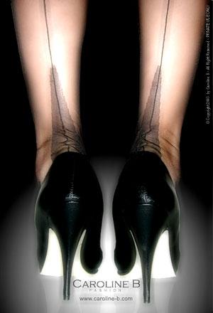 les bas nylon couture