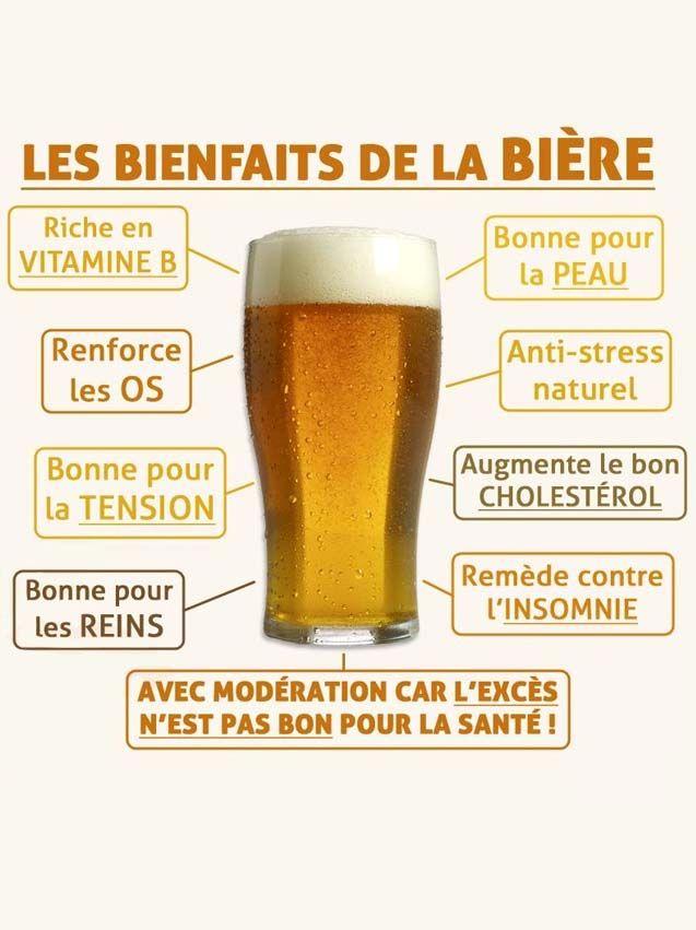 les bienfait de la biere