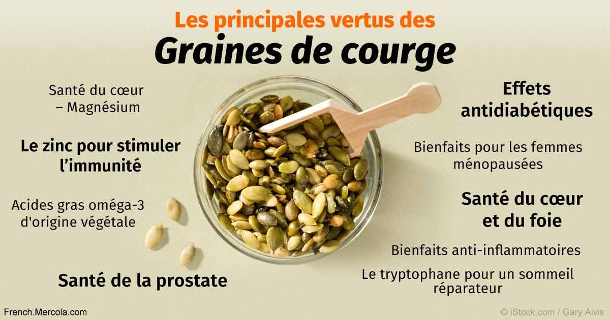 les bienfaits des graines