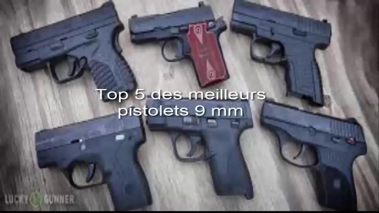 les meilleurs armes de poing