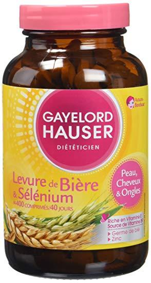 levure de biere selenium gayelord hauser