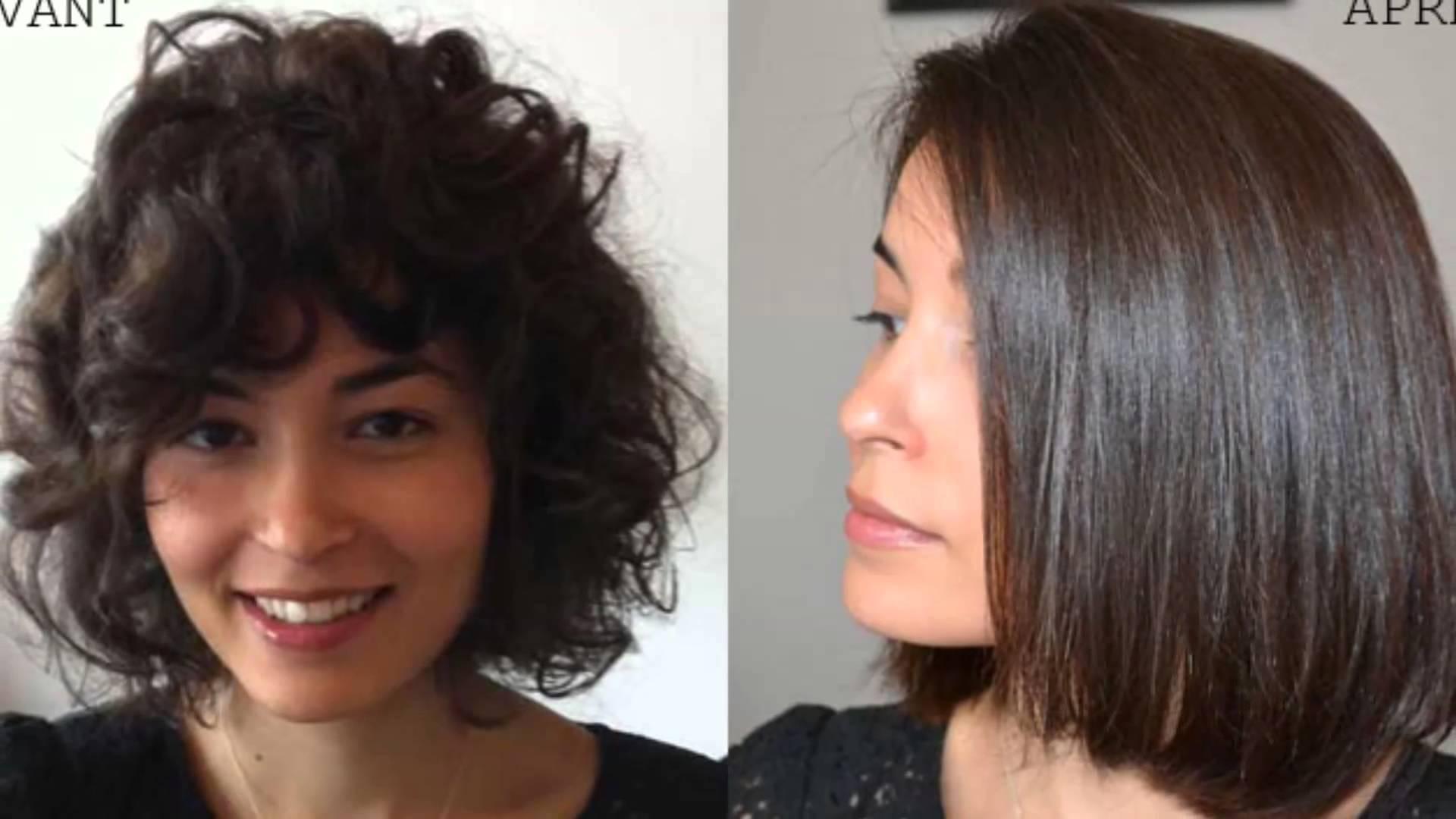 lisser cheveux courts