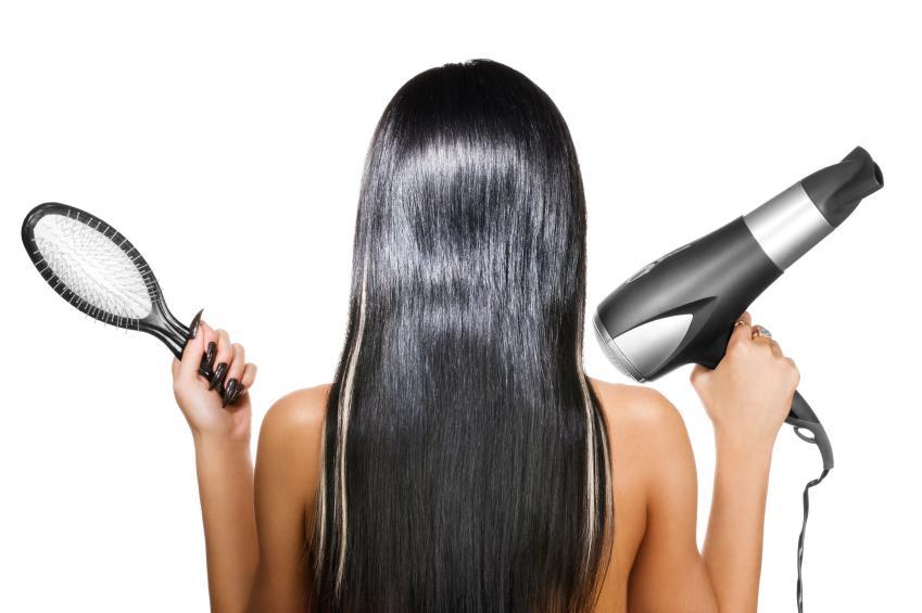 lisser cheveux seche cheveux
