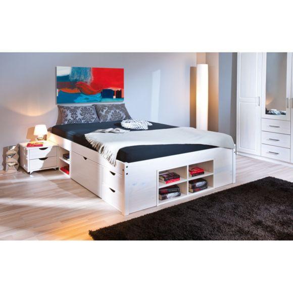 lit avec rangement 140x190