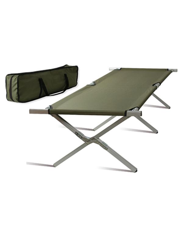 lit de camp militaire