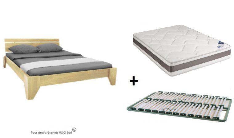 lit pas cher avec matelas