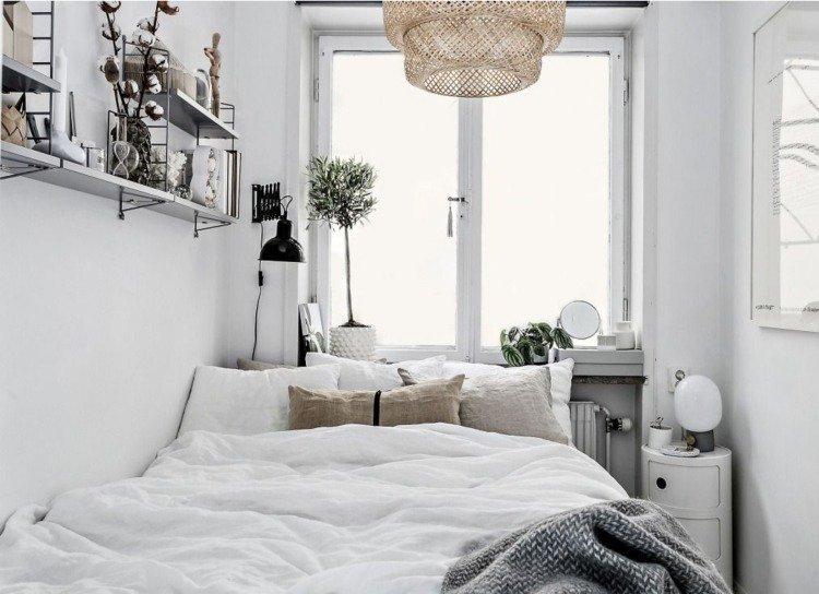 lit sous fenetre