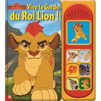 livre la garde du roi lion