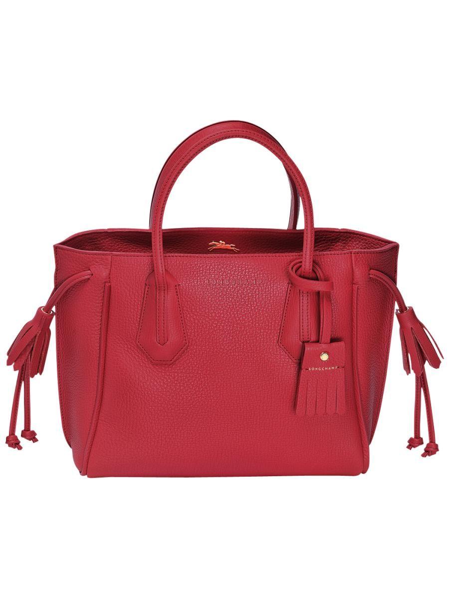 longchamp sac rouge