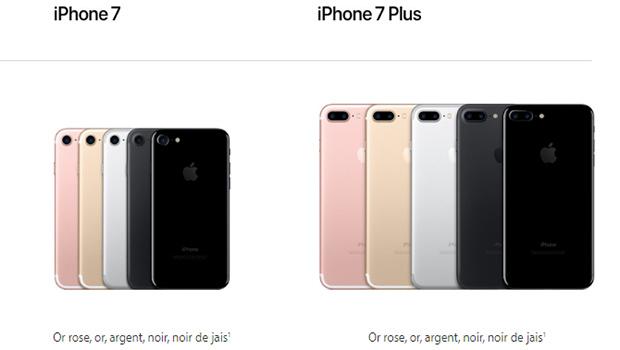 longueur iphone 7