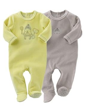 lot de pyjama bébé