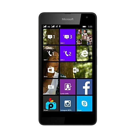 lumia 535 ne charge plus