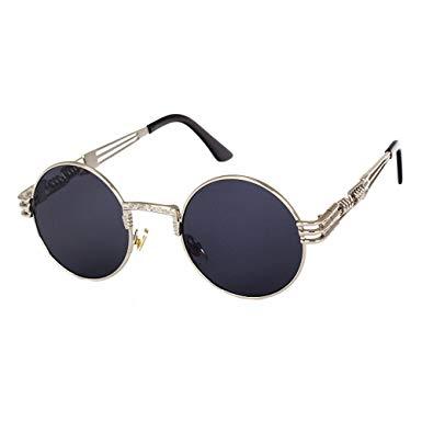 lunette de soleil ronde vintage homme
