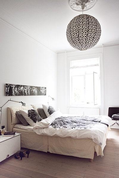 lustre pour chambre à coucher