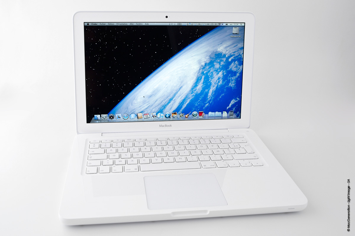 macbook blanc unibody
