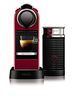 machine lait nespresso