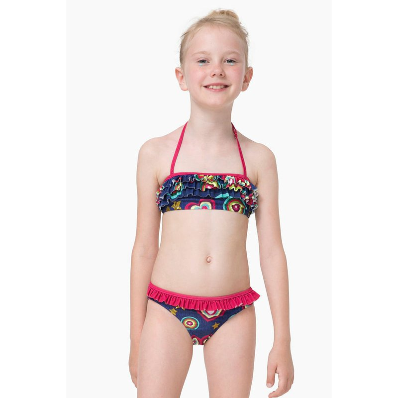 maillot de bain 2 pieces fille