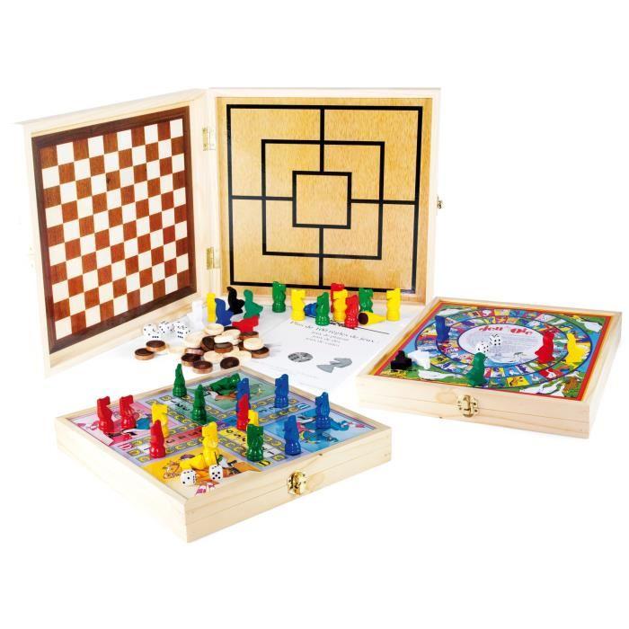 malette de jeux en bois