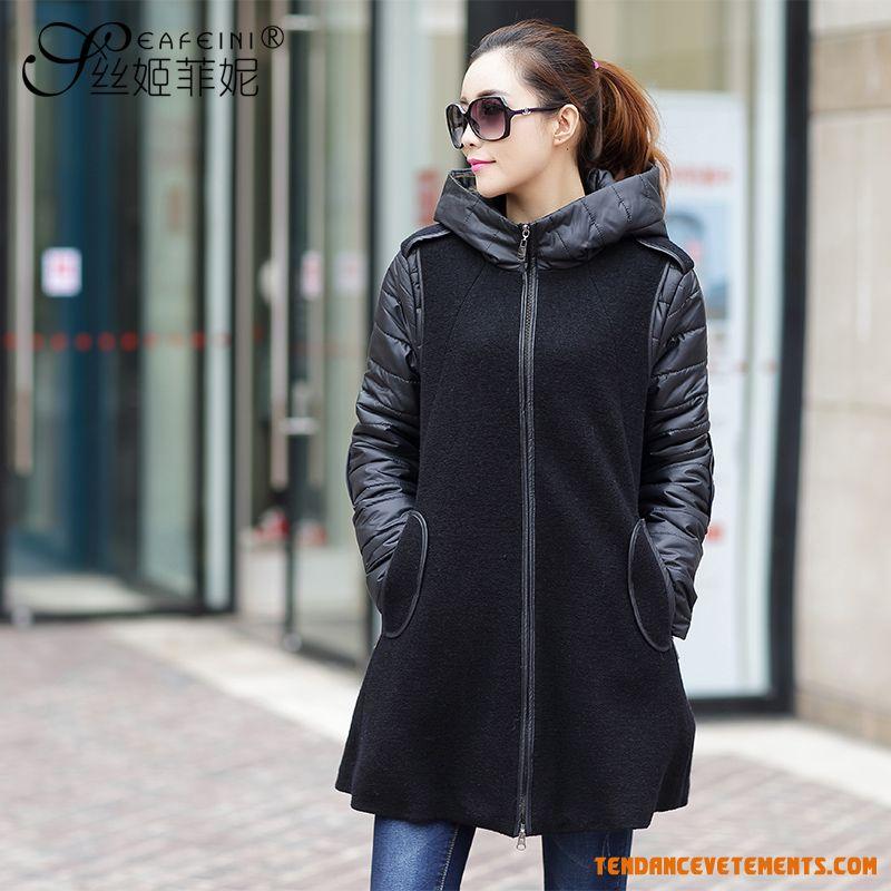 manteau femme grande taille pas cher