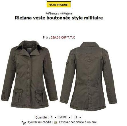 manteau femme oxbow
