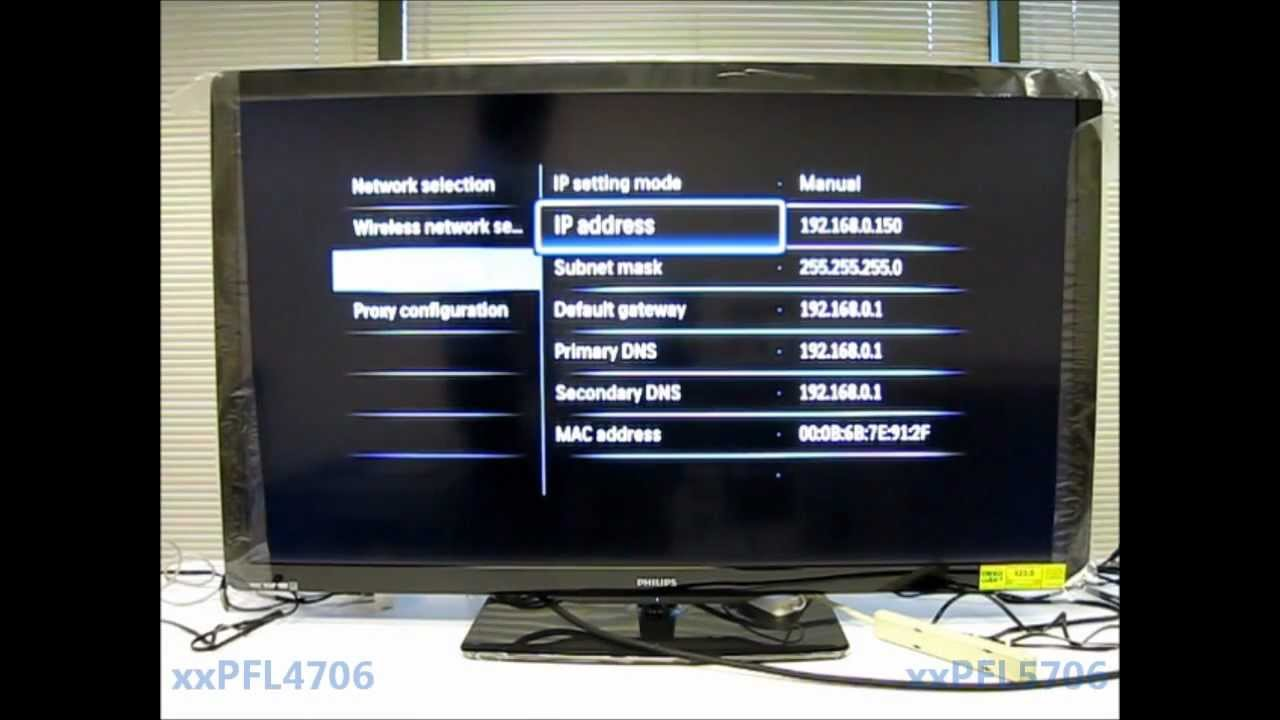 manuel tv philips
