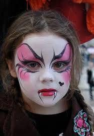 maquillage fille vampire