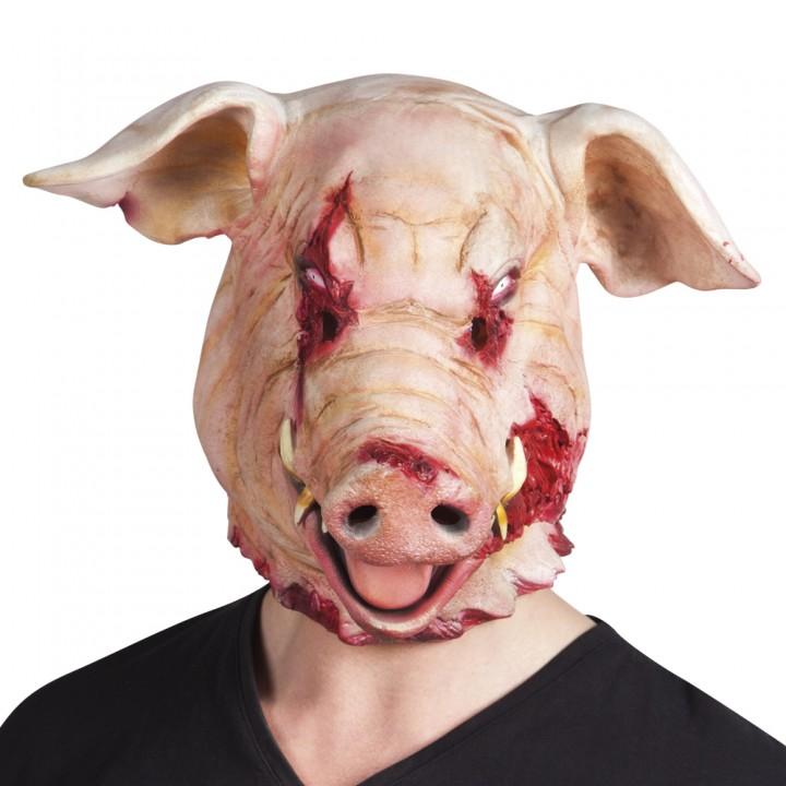 masque halloween cochon