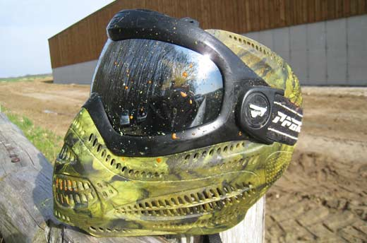 masque paintball anti buée