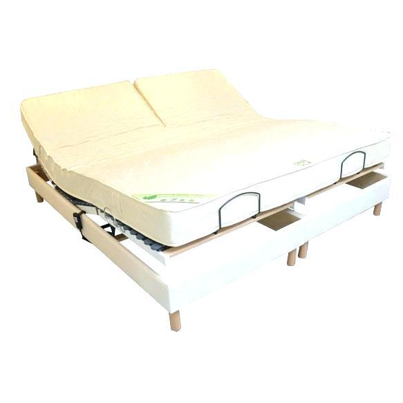 matelas pour lit articulé 2x80x200