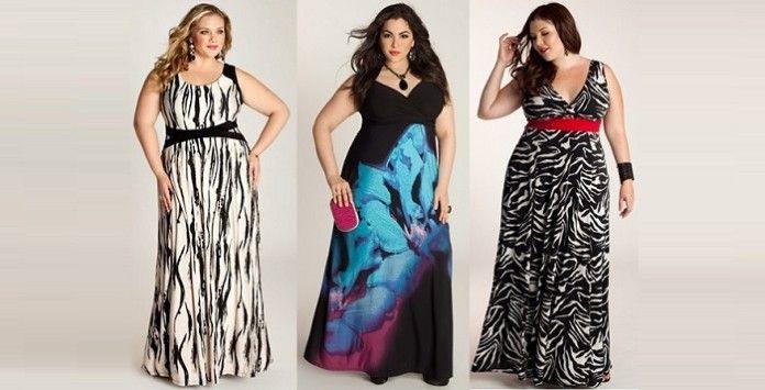 maxi robe grande taille