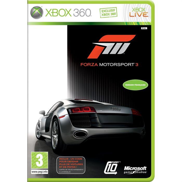 meilleur jeux voiture xbox 360