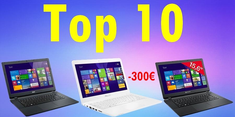 meilleur pc portable moins de 300 euros