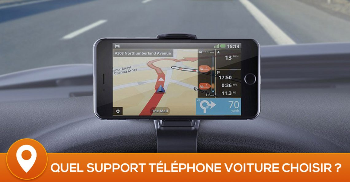 meilleur support iphone voiture