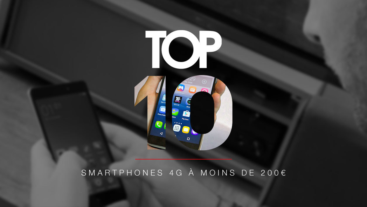 meilleurs smartphone a moins de 200 euros