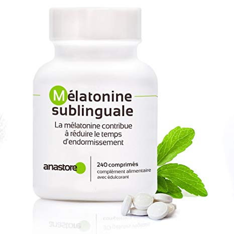 mélatonine sublinguale