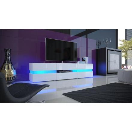 meuble tele avec led
