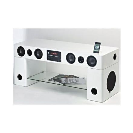 meuble tv enceintes intégrées