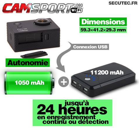 micro camera espion longue autonomie