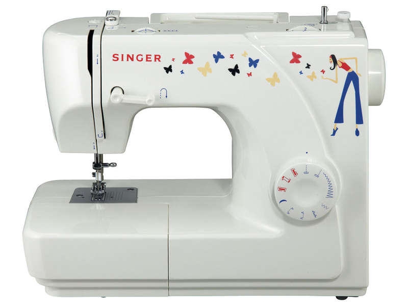 mini machine à coudre singer