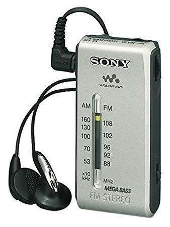 mini radio fm sony