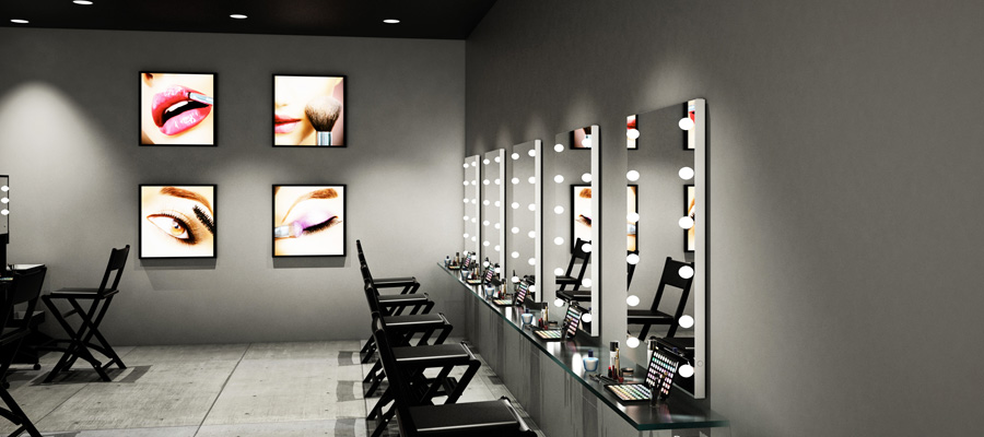 miroir maquillage pro