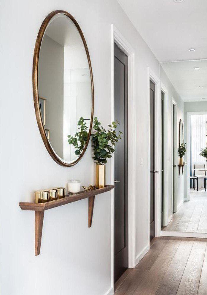 miroir pour entrée