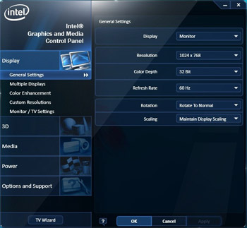 mise à jour intel hd graphics
